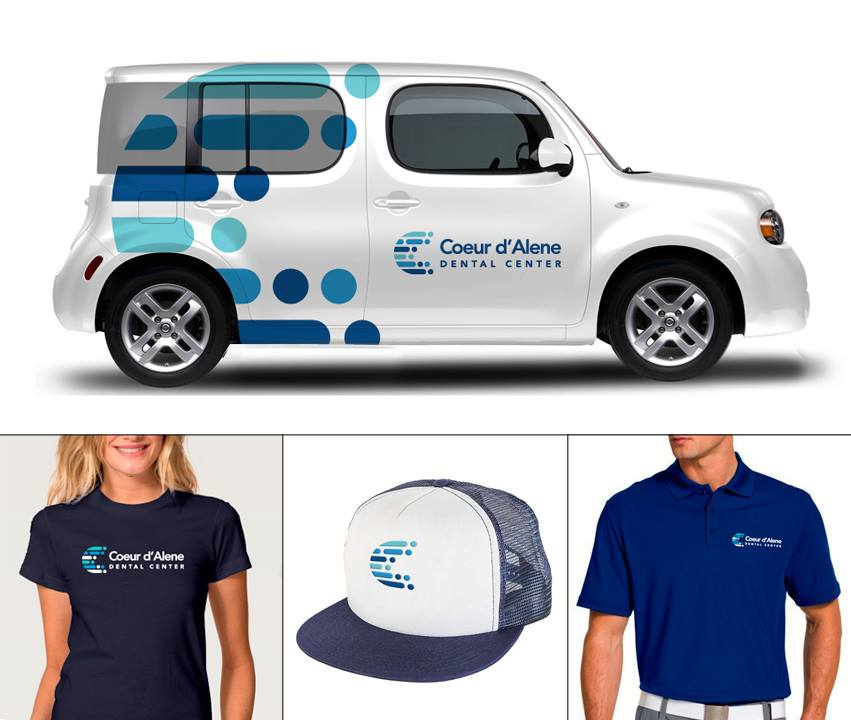 Coeur d'Alene Dental Center Branding